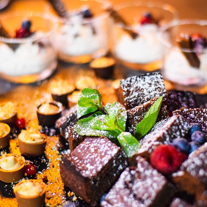 REZEPT ° Triple Chocolate Brownie