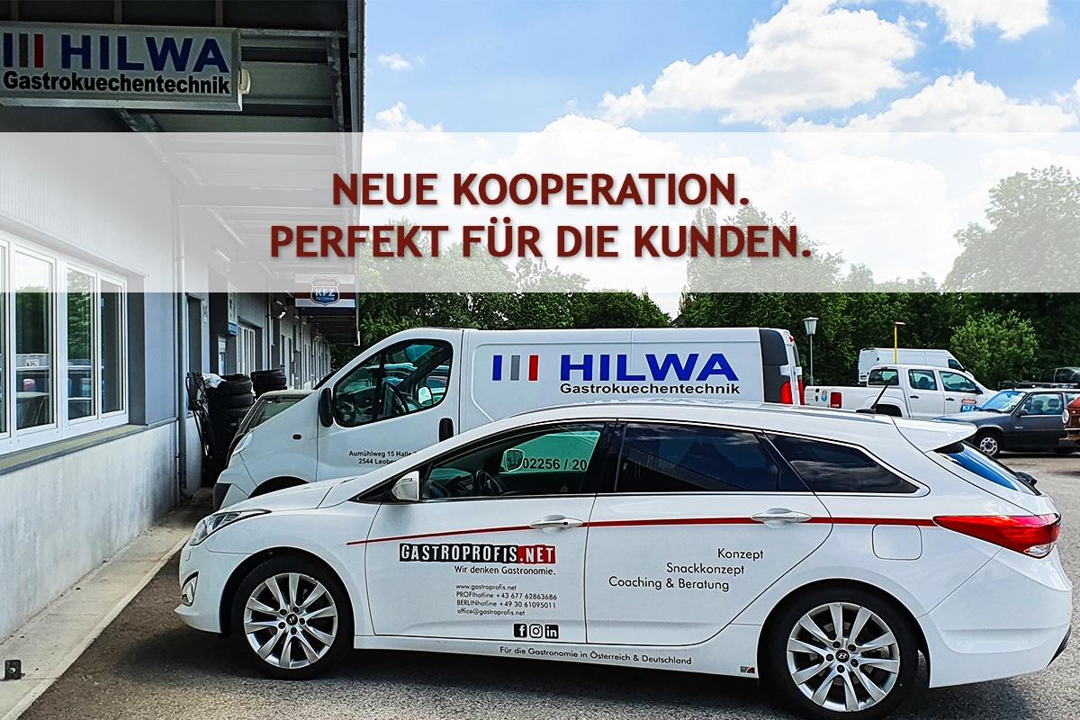 Partner, Kooperation: Partnerschaft: HILWA Gastroküchentechnik - Mannsberger - Leobersdorf nahe Wien