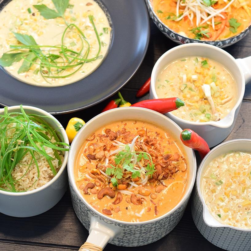 REZEPT ° Schnelles Linsencurry mit Kichererbsen und heimischem Gemüse