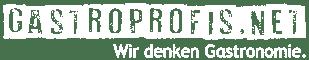 Logo gastroPROFIS 2021 - voll weiß - Höhe 60px - PNG
