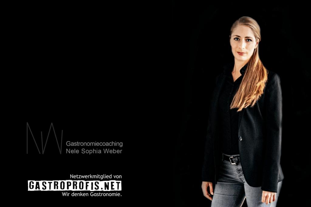 Nele Sophia Weber ist mit Ihrem Gastronomiecoaching Partnerin der gastroPROFIS - Konzept, Betreuung und Workshops für die Gastronomie   Berlin, Hamburg, Deutschland